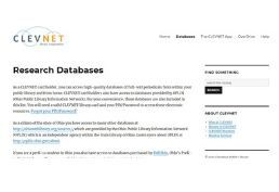 clevnet databases