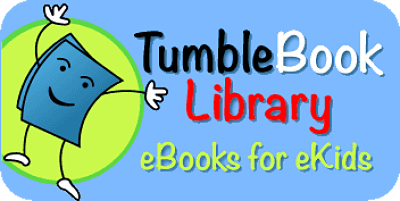 TumbleBook Library eBooks for eKids Logo