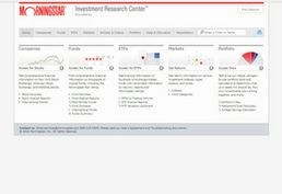 Morningstar Investments database