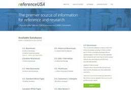 Reference USA database