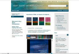 very short introductions database